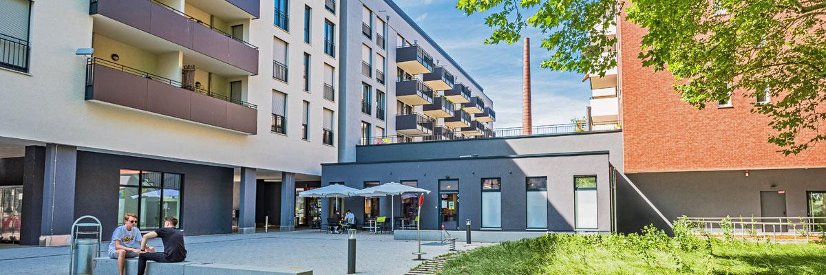 Wohnanlage am Salamanderplatz Kornwestheim