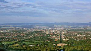 Herkulesblick der Stadt Kassel