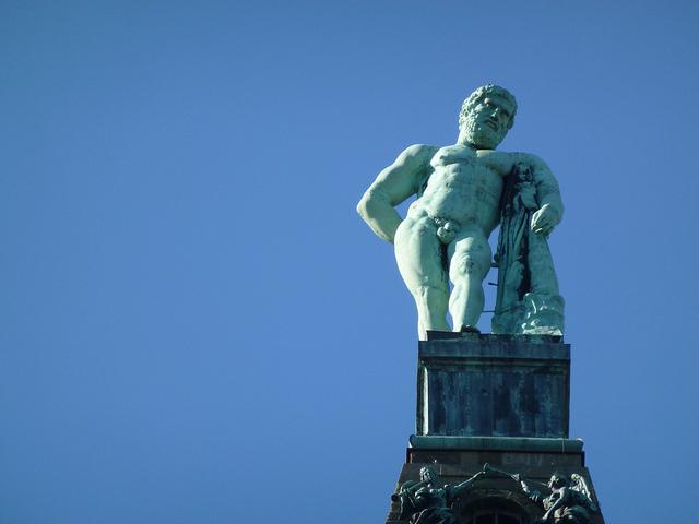 Wahrzeichen Herkules der Stadt Kassel