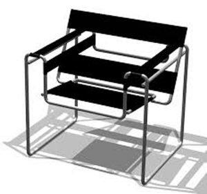 Wassily Stuhl designed by Marcel Breuer