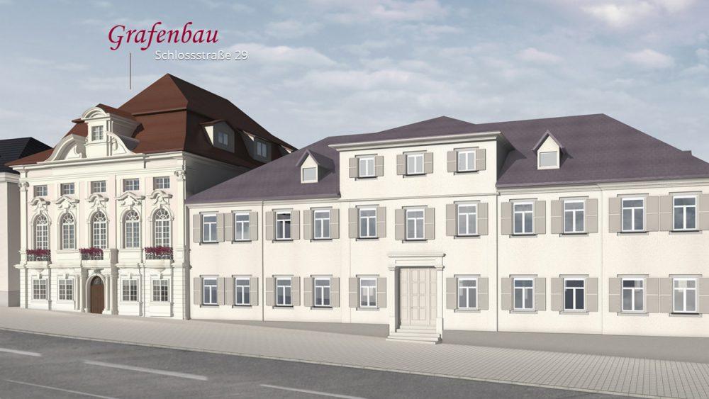 Rendering Grafenbaus Ludwigsburg