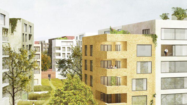 Projekt Lingner Altstadtgarten Dresden – Entwurf Peter Kulka Architektu