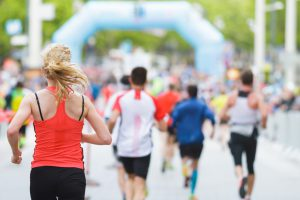 Marathon Läufer