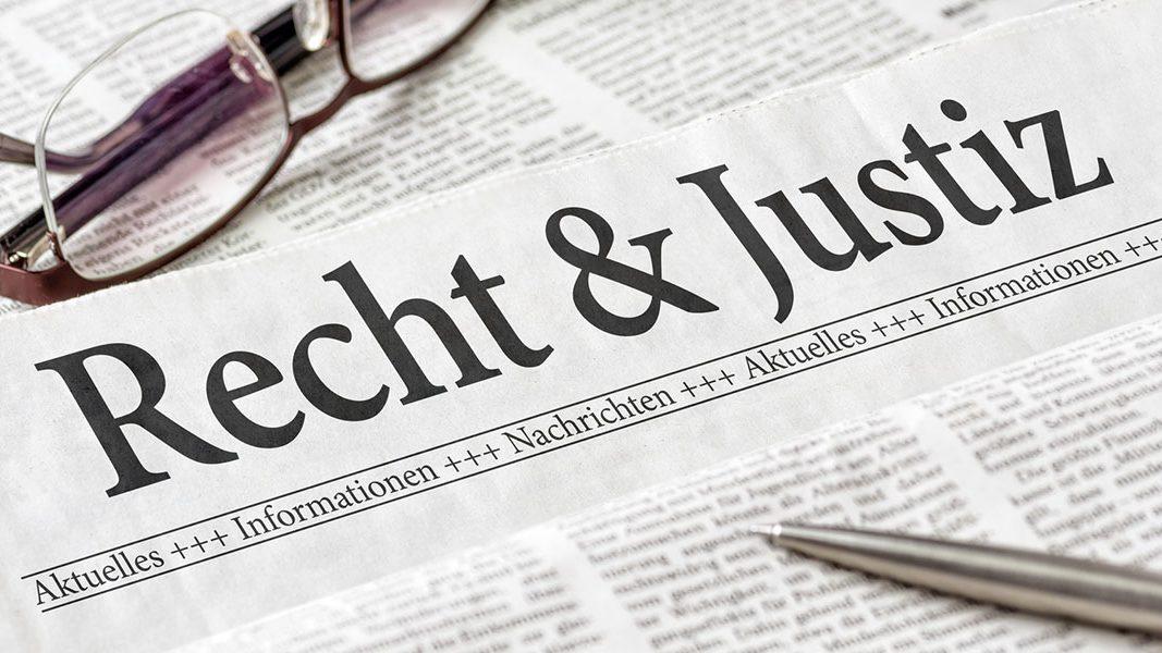 Nachrichten zu Recht und Justiz