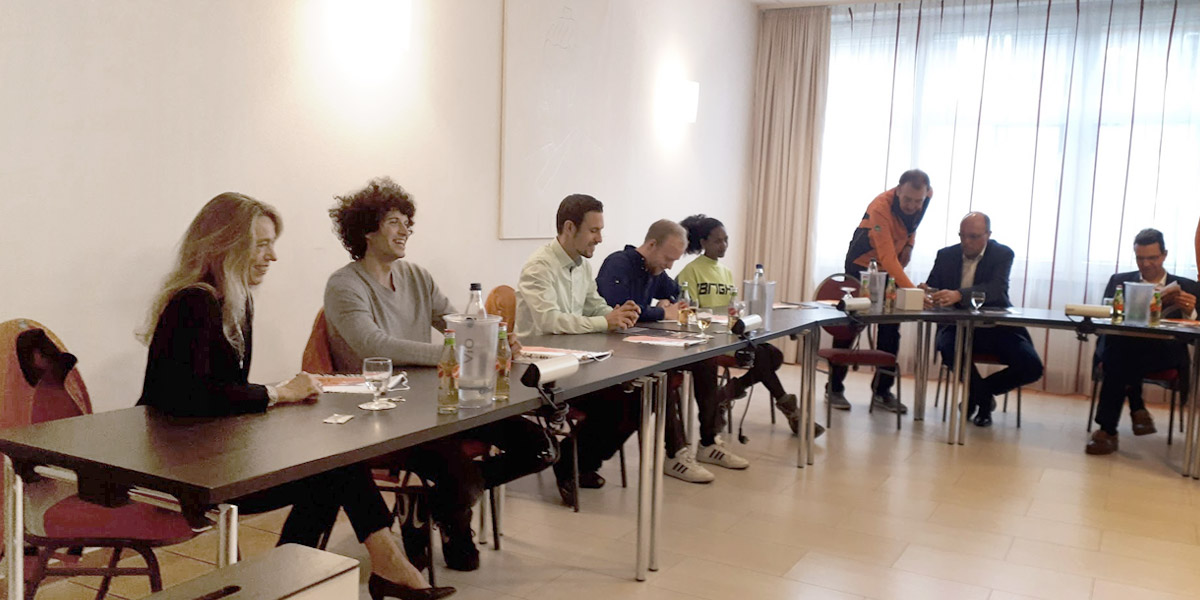 Laufteam Kassel, Pressekonferenz, 2019-11