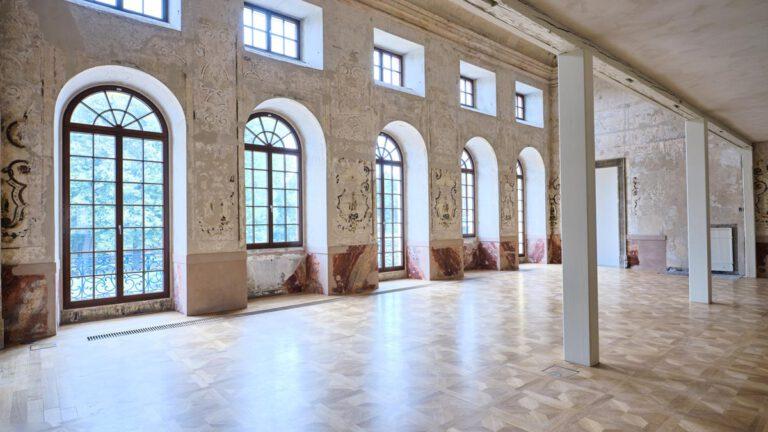 Kulturdenkmal Grafenbau, Ludwigsburg, Großer Saal