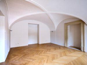 Kulturdenkmal Grafenbau, Ludwigsburg, restauriertes Deckengewölbe